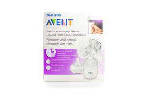Молоковідсмоктувач Philips Avent ручний+соска д/годування