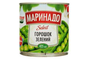 Горошок зеленый Select Маринадо ж/б 420г