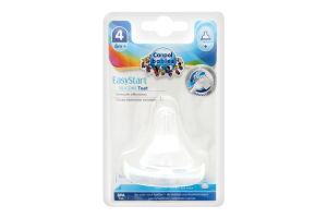 Соска для детей от 6мес молочная силиконовая №21/723 EasyStart Canpol babies 1шт