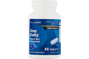 CareOne One Daily Men's 50+ Advanced - 65 CT