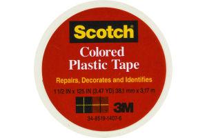 Scotch White Colored Plastic Tape