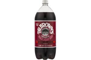 Dr. Brown's Original Black Cherry Soda Caffeine Free