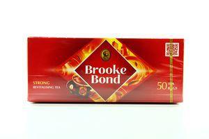 Чай черный Strong Brooke Bond к/у 50х1.8г