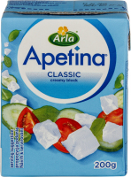 Сир 40% м'який Classic Apetina Arla п/п 200г