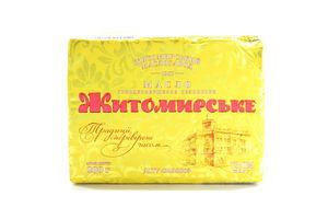 Масло Житомирське Селянське 73% 200г *20