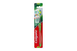 Зубная щетка средней жесткости Сенсация свежести Colgate 1шт
