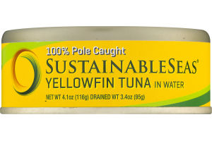 SustainableSeas Yellowfin Tuna In Water