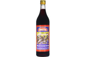 Marco Polo All Natural Black Currant Syrup