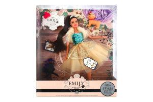 Лялька для дітей від 3років №QJ079C/QJ079D Emily 1шт