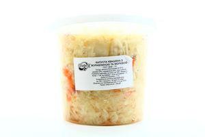 Капуста Ольвита квашена з журавлиною та морквою 900г