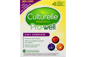 Culturelle Pro-Well 3-in-1 Complete Formula - 30 CT