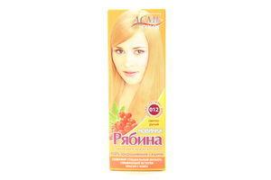 Крем-краска для волос Рябина Светло-русый №012 Acme Color