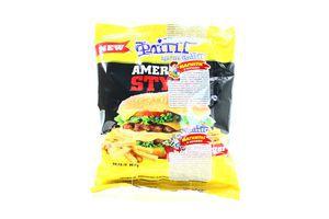 Сухарики со вкусом чизбургера American style Flint м/у 90г