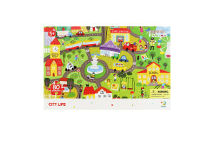 Пазл для детей от 5лет 45х31см №300135 City life Observation Dodo 80эл