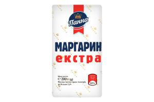 Маргарин 82% столовий Екстра Панна м/у 200г