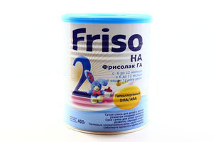 Смесь гипоаллергенная Фрисолак 2 Friso 400г