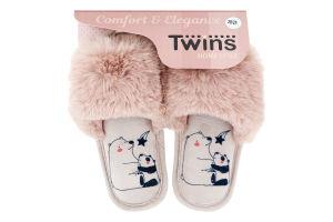 Капці відкриті домашні дитячі Twins №6484 28-29