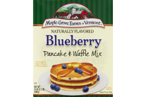 Maple Grove Farms of Vermont Pancake & Waffle Mix Blueberry