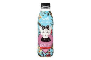 Напій безалкогольний зі смаком яблука та м'яти негазований Wellness beauty Біола п/пл 0.5л