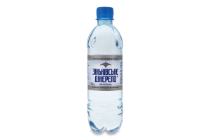 Вода мінеральна негазована Зіньківське Джерело п/пл 0.5л