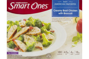 Smart Ones Creamy Basil Chicken With Broccoli