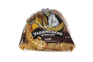 Хлеб в нарезке половинка Украинский домашний Хліб Житомира м/у 400г