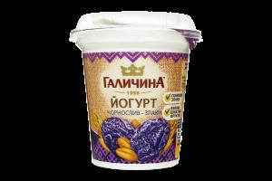 Йогурт 2.5% Чернослив-злаки Галичина ст 280г