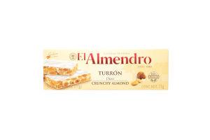 Туррон El Almendro хрустящий
