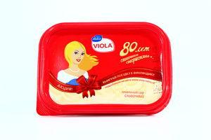 Сыр 60% плавленный Виола пластмассовая упаковка 200г