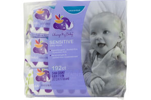 Always My Baby Baby Wipes Sensitive Unscented - 192 CT