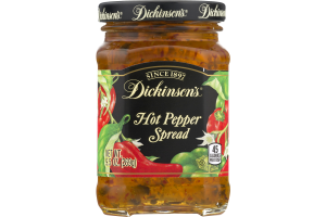 Dickinson's Hot Pepper Spread