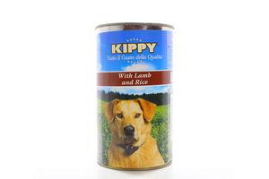 Корм Kippy для собак з ягням та рисом 1250г