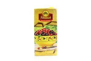 Нектар яблочно-вишневый осветленный Filvarok т/п 2л