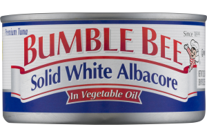 Bumble Bee Solid White Albacore In Vegetable Oil