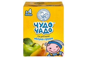 Сок яблуко-груша Чудо-чадо 0.2л