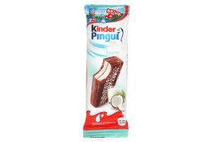 Тістечко бісквітне з молочно-кокосовою начинкою Pingui Kinder м/у 30г