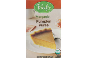 Pacific Organic Pumpkin Puree