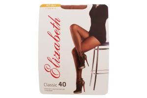 Колготки женские Elizabeth Classic 40den 2 visone