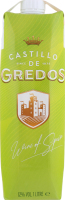 Вино 1л 12% біле сухе Castillo de Gredos т/п