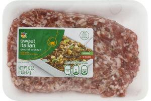 Ahold Sweet Italian Ground Sausage