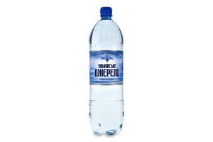 Вода мінеральна негазована Зіньківське Джерело п/пл 1.5л