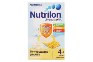 Каша молочная Кукурузно-рисовая Nutrilon к/у 225г