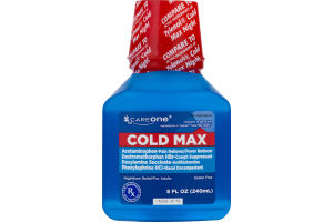 CareOne Cold Max Nighttime Relief for Adults
