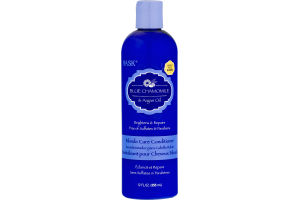 Hask Blonde Care Conditioner Blue Chamomile & Argan Oil