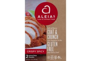 Aleia's Coat & Crunch Gluten Free Crispy Spicy Pouches - 2 CT
