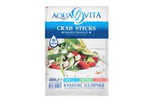 Крабові палички Aqua Vita заморожені 400г х18