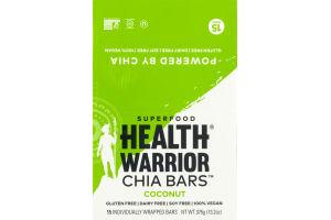 Health Warrior Chia Bars Coconut - 15 CT