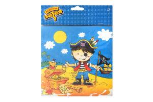 Серветки 33см Маленький Пірат №1502-1284 Веселая Затея 12шт