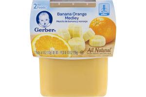 Gerber 2nd Foods Banana Orange Medley - 2 CT