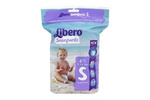 Підгузки дитячі 7-12кг Swimpants Libero 6шт